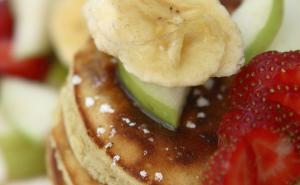 Banana and Apple Pancakes
