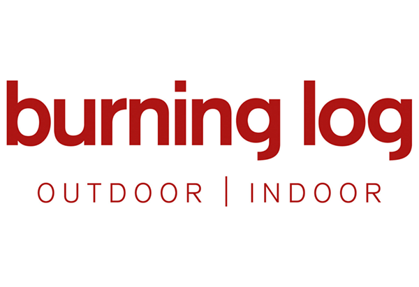 Burning Log logo