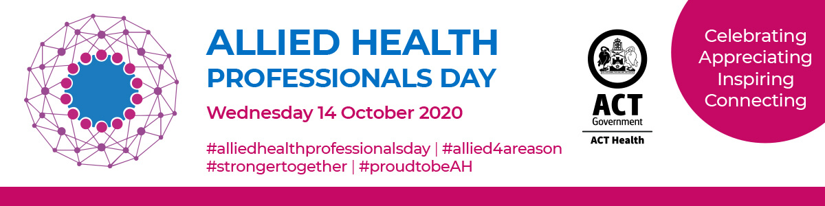 Allied Health Professionals Day banner