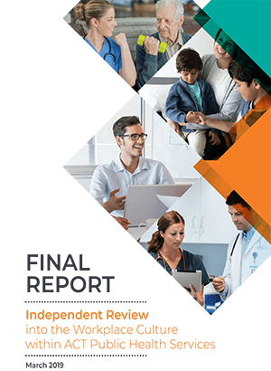 Final Report Independent Review into Workplace Culture Cover