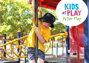 Kids at Play Active Play section banner