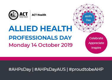 Allied Health Professionals Day - news tile